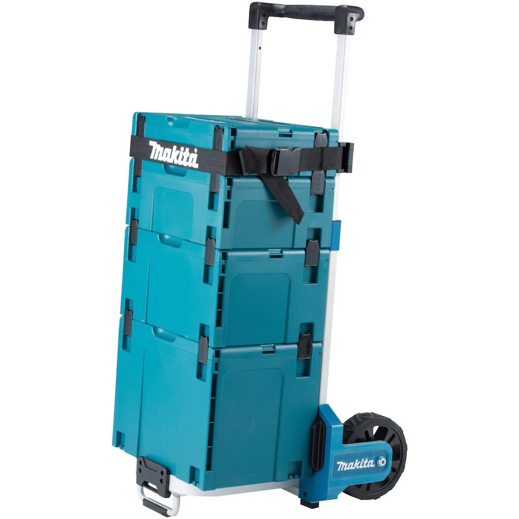 Makita Transportkarren »Werkzeugtrolley TR00000001«, 57x50x112 cm, faltbar