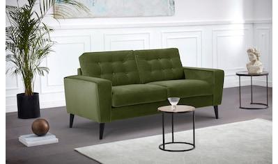 Leonique Sofa »Tivoli«, mit schöner Knopfheftung, inklusive Rückenkissen kaufen