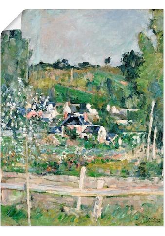 Artland Wandbild »Stillleben mit italienischer Fayence«, Garten, (1 St.), in vielen... kaufen