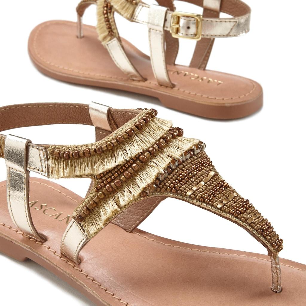 LASCANA Sandale, mit Steinchen
