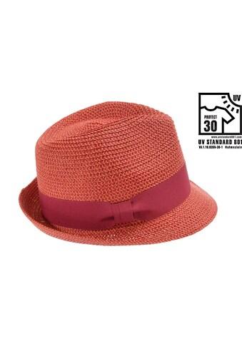 Seeberger Strohhut »Trilby mit Materialeinsatz 54372-0« kaufen