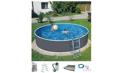 Set: Rundpool »Standard«, 6 - tlg., ØxH: 360x110 cm kaufen