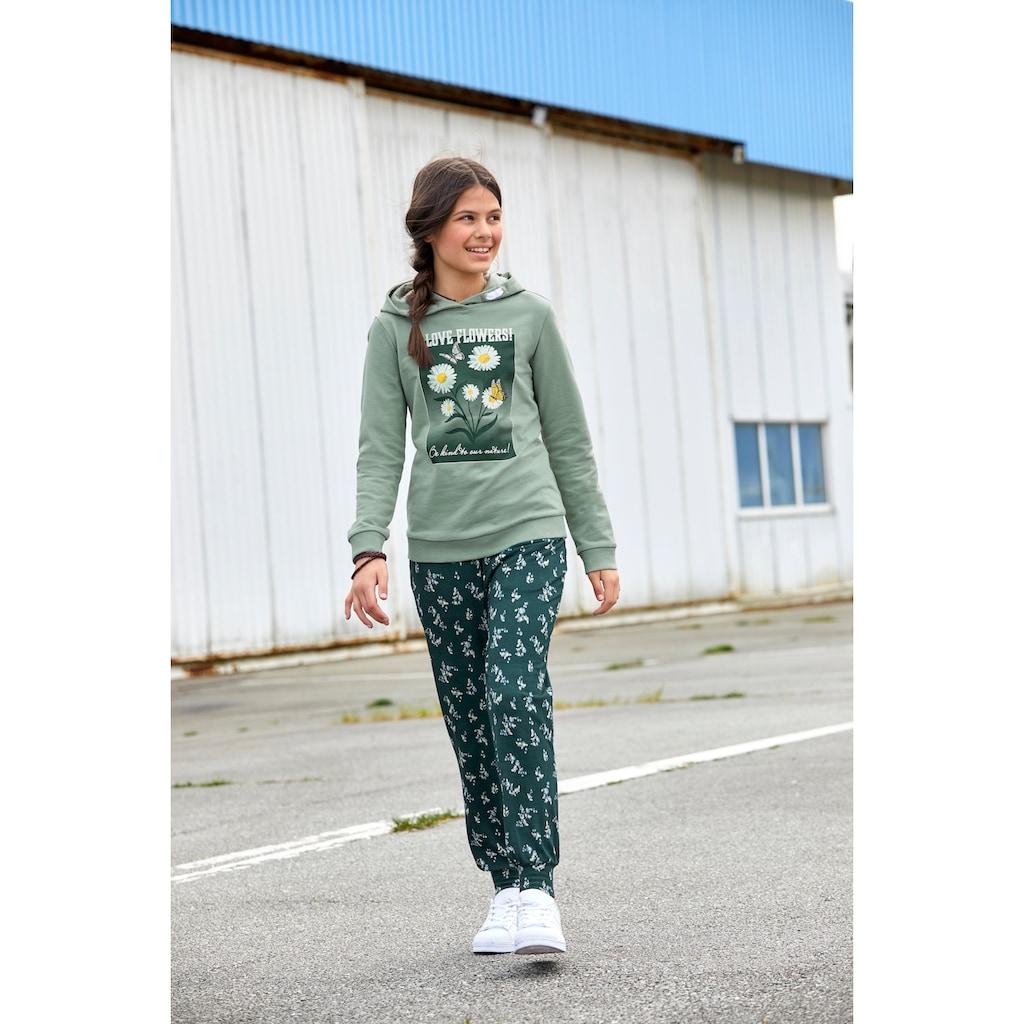 KIDSWORLD Kapuzensweatshirt, mit Fotodruck