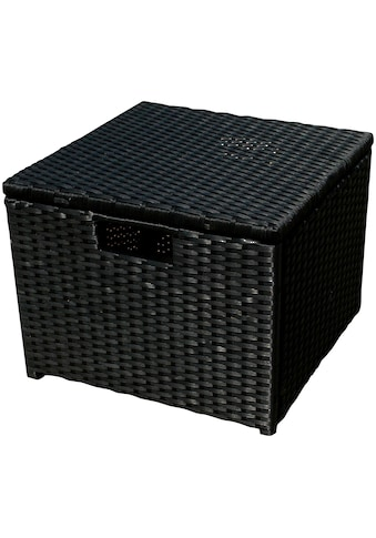 indoba Hocker »Faro«, Polyrattan - IND-70078-HO kaufen