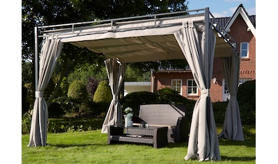KONIFERA Pavillon mit Seitenteilen »Milos«, 300x300 cm kaufen