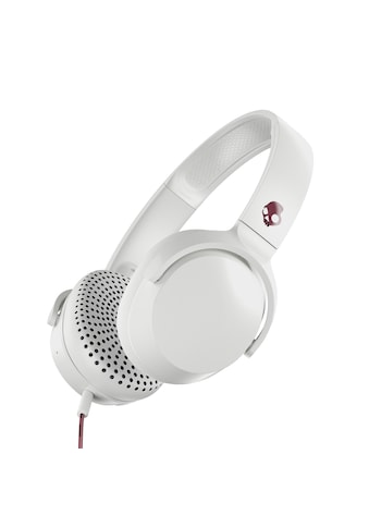 Skullcandy Headset »RIFF ON - EAR W/TAP TECH VICE/GRAY/CRIMSON« kaufen