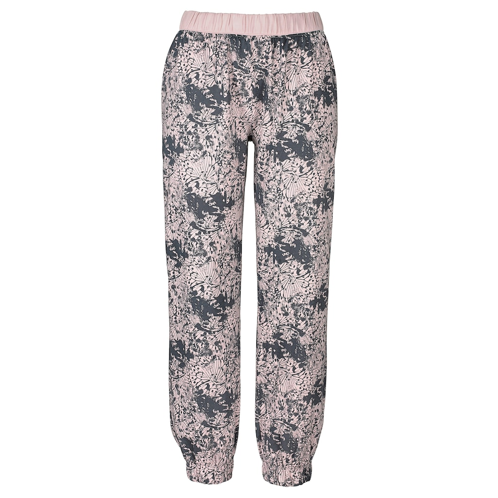 Buffalo Pyjama, mit gemusterter Hose und passendem Langarmshirt