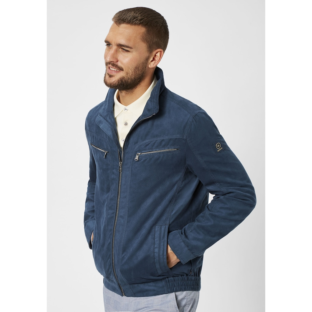 Redpoint Funktionsjacke »Ted«, Micro Velours