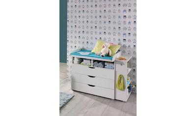 rauch BLUE Babymöbel-Set »Bristol«, (Spar-Set, 2 tlg.), Wickelkommode + Seitenregal kaufen