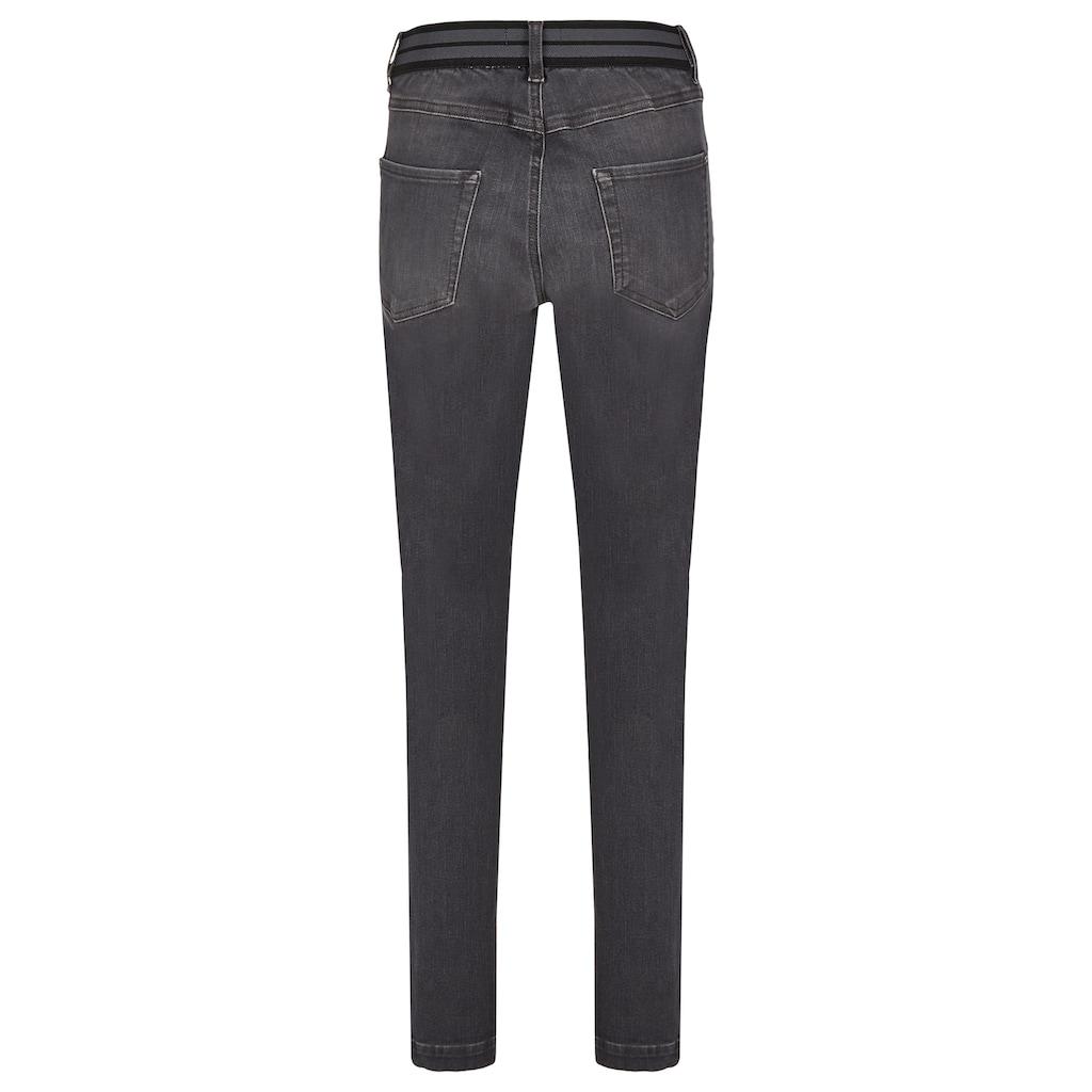 ANGELS Straight-Jeans, mit Destroyed-Effekten