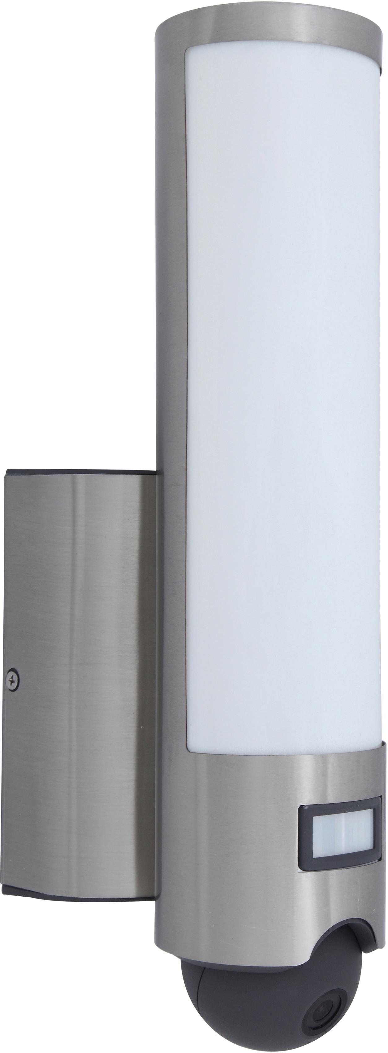 LUTEC LED Außen-Wandleuchte ELARA HD ST2671-CAM, LED-Modul, 1 St., Warmweiß, Kameraleuchte