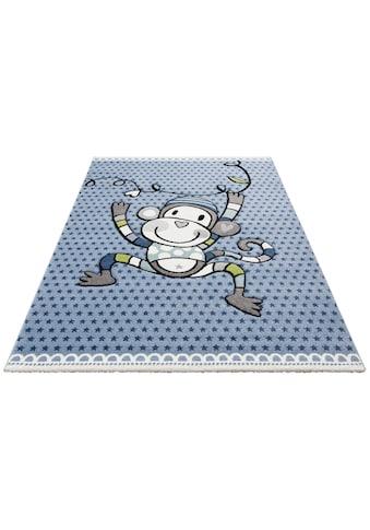 Kinderteppich, »Affe«, Lüttenhütt, rechteckig, Höhe 13 mm, maschinell gewebt kaufen