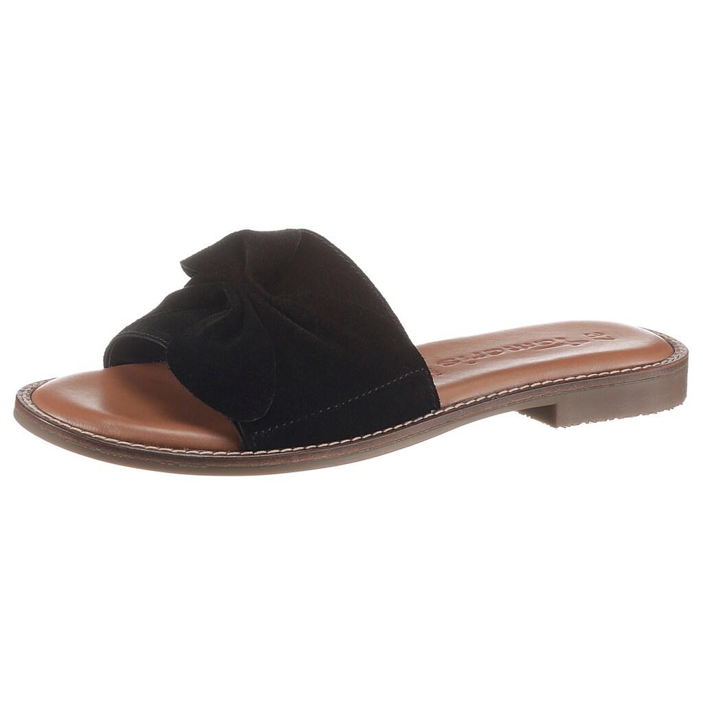 Tamaris Pantolette »JAGAR«, mit modischer Zierschleife