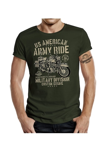 GASOLINE BANDIT® T-Shirt mit coolem Front-Print kaufen