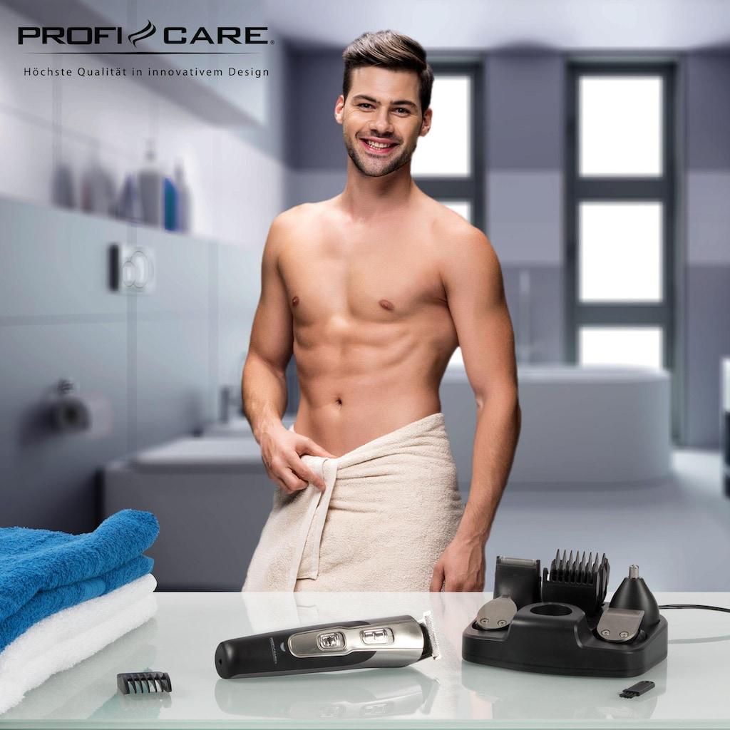 ProfiCare Haar- und Bartschneider »PC-BHT 3014«, 5 Aufsätze, Multifunktionelles Haarschneidegerät