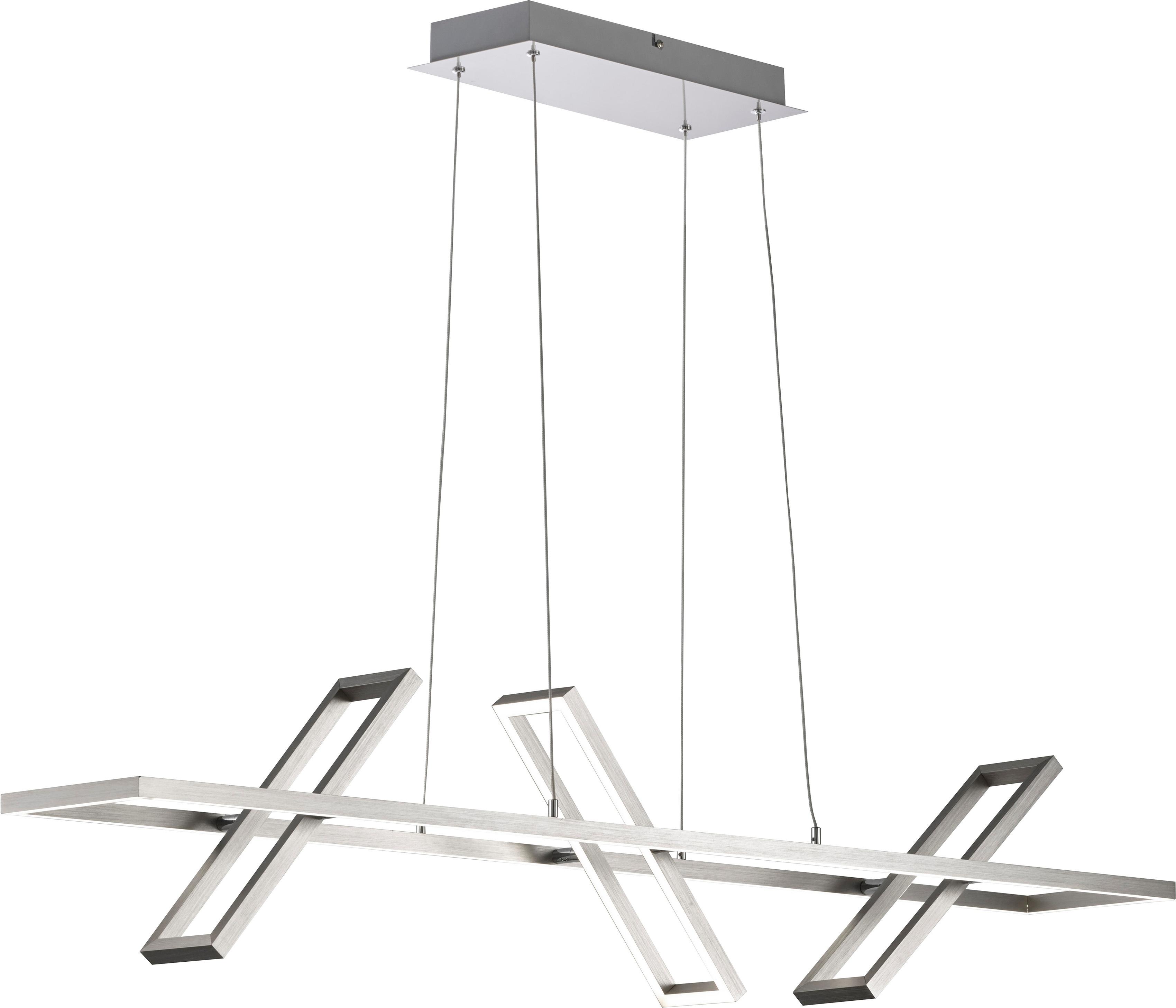 FISCHER & HONSEL LED-Hängeleuchte Rob, LED-Board, 1 St., LED Pendelleuchte, LED Pendellampe
