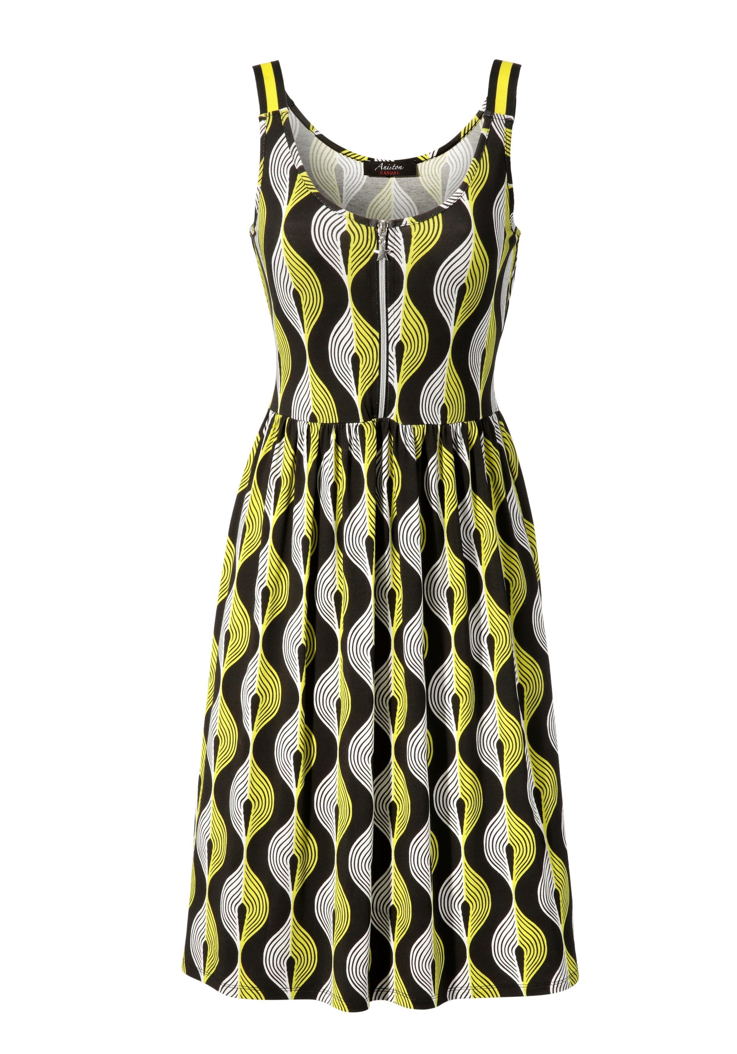 details zu aniston casual sommerkleid kleider damen freizeitkleider