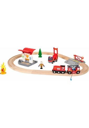 """BRIO® Spielzeug - Eisenbahn """"BRIO® WORLD Feuerwehr Set"""" (Set) kaufen"""