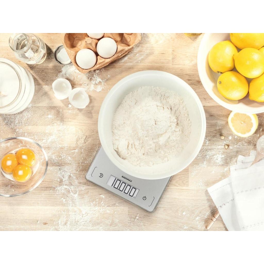 Soehnle Küchenwaage »Page Comfort 300 Slim«, LCD-Anzeige