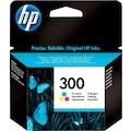 HP Tintenpatrone »hp 300 Original Cyan, Magenta, Gelb«, (1 St.)