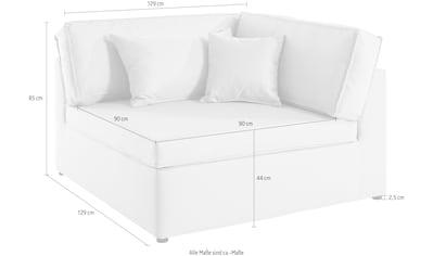 LeGer Home by Lena Gercke Sofa-Eckelement »Venosa«, loungiger, weicher Sitzkomfort, in... kaufen