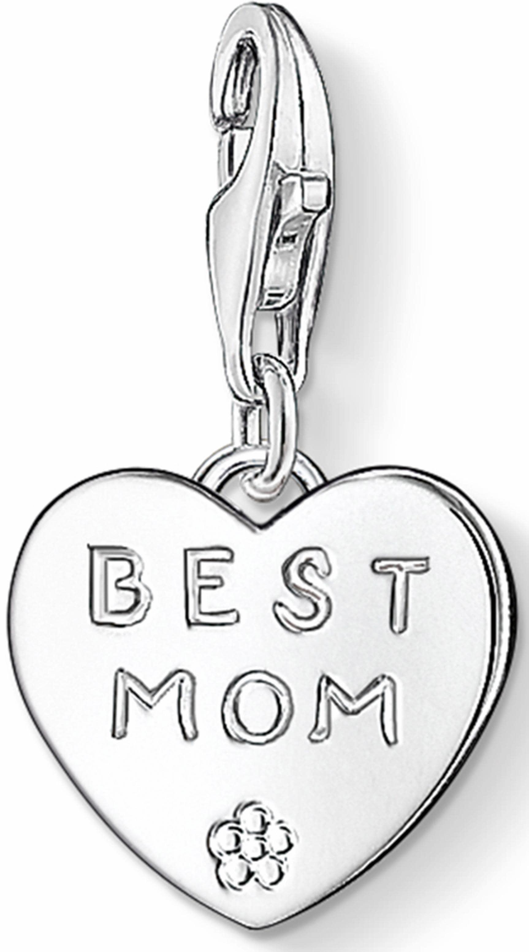 THOMAS SABO Charm-Einhänger »BEST MOM, 0821-001...