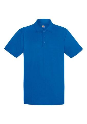 Fruit of the Loom Poloshirt »Herren Polo-Hemd, kurzärmlig« kaufen