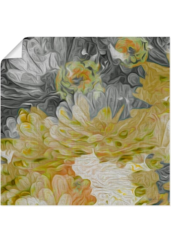 Artland Wandbild »Chrysanthemen in der Sonne III«, Blumen, (1 St.), in vielen Größen &... kaufen