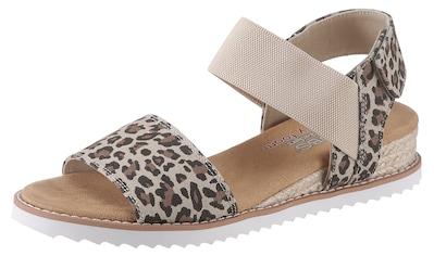 Skechers Sandale »Desert Kiss«, mit Animal-Print kaufen
