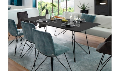 Villeroy & Boch Esstisch »AMARA«, mit Keramiktischplatte und Haarnadelfuß, Breite 190 cm kaufen