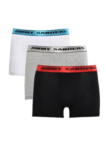 Jimmy Sanders Boxershorts Faust mit unifarbenem Stoff kaufen