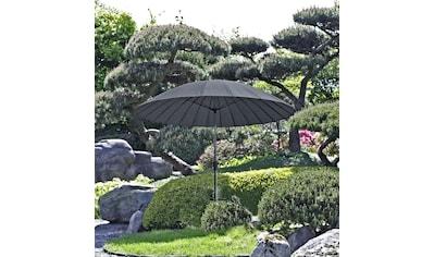 Garden Pleasure Sonnenschirm »Sonnenschirm mit 24 Streben, anthrazit«, mit 24 Streben kaufen