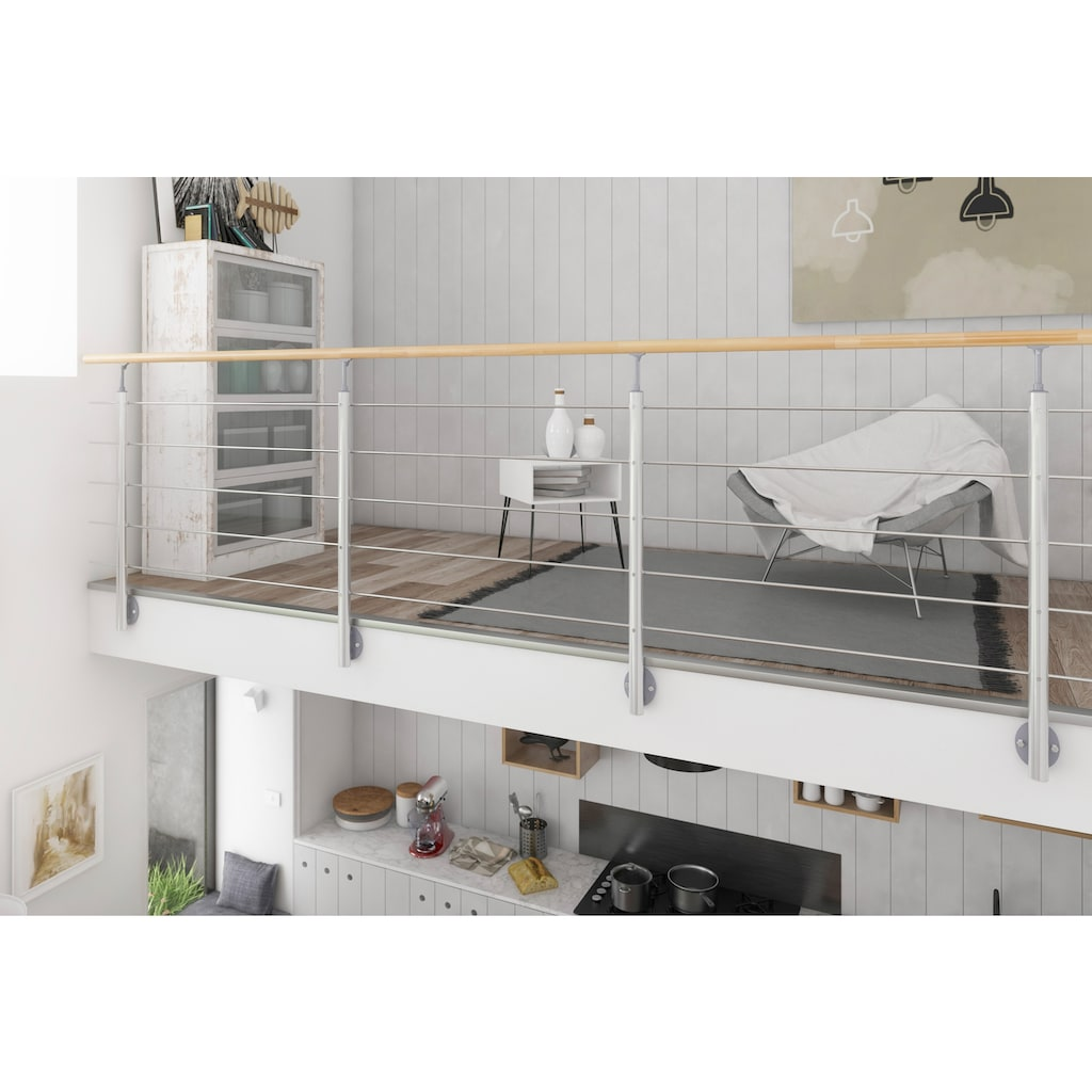 Dolle Treppengeländer, seitliche Montage
