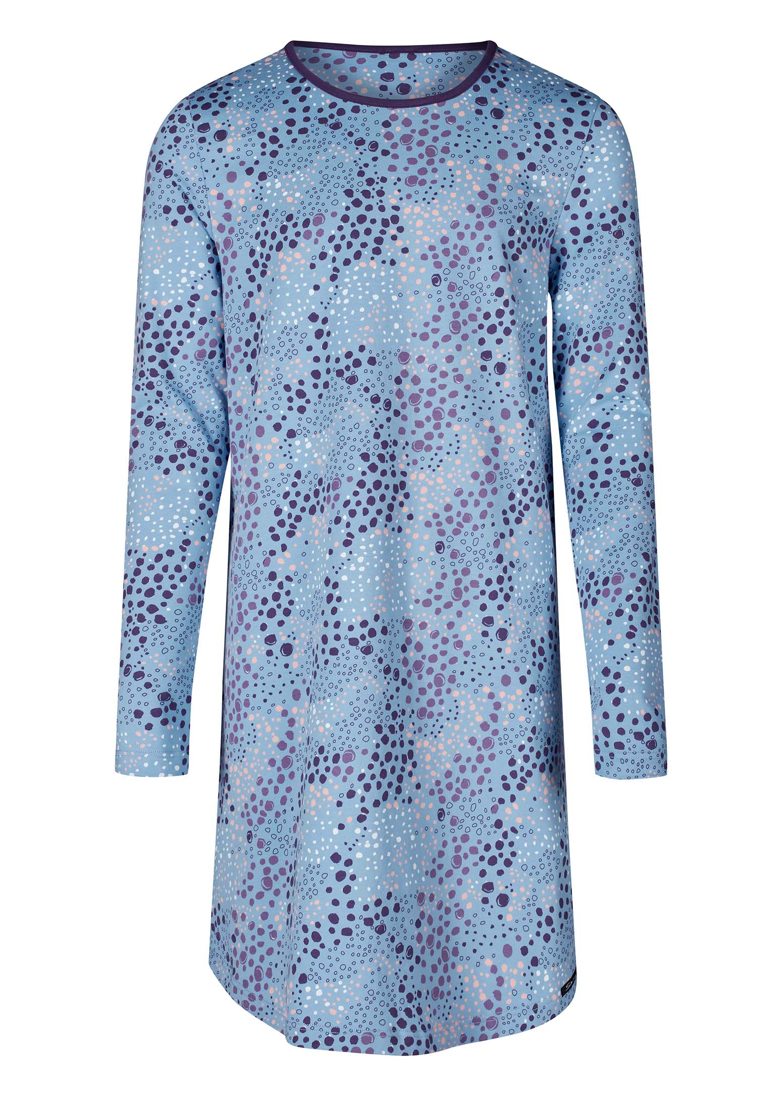 Skiny Nachthemd in lässigem Leo-Print Cosy Night Sleep