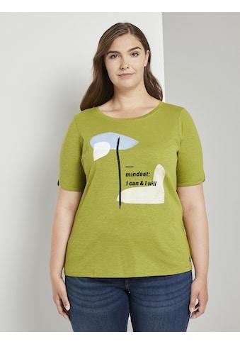 TOM TAILOR MY TRUE ME T - Shirt »T - Shirt mit Artwork« kaufen