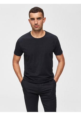SELECTED HOMME T-Shirt »NEW PIMA O-NECK TEE« kaufen