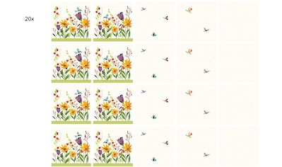 Wall-Art Fliesenaufkleber »Fliesenaufkleber Blütenpoesie« kaufen