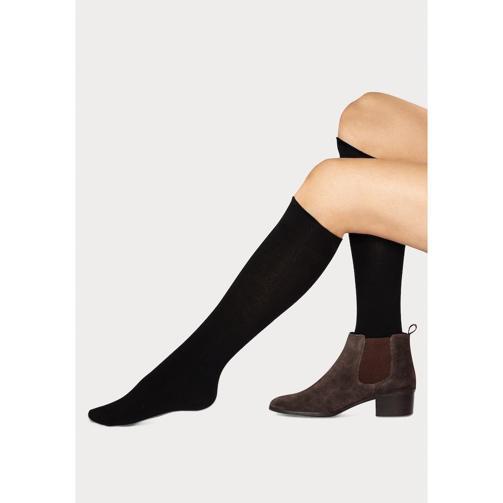 Sympatico Thermostrümpfe, (2 Paar), für warme Füße
