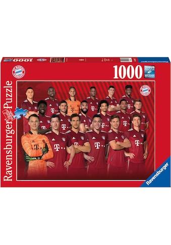 Ravensburger Puzzle »FC Bayern Saison 2021/22«, Made in Germany, FSC® - schützt Wald -... kaufen