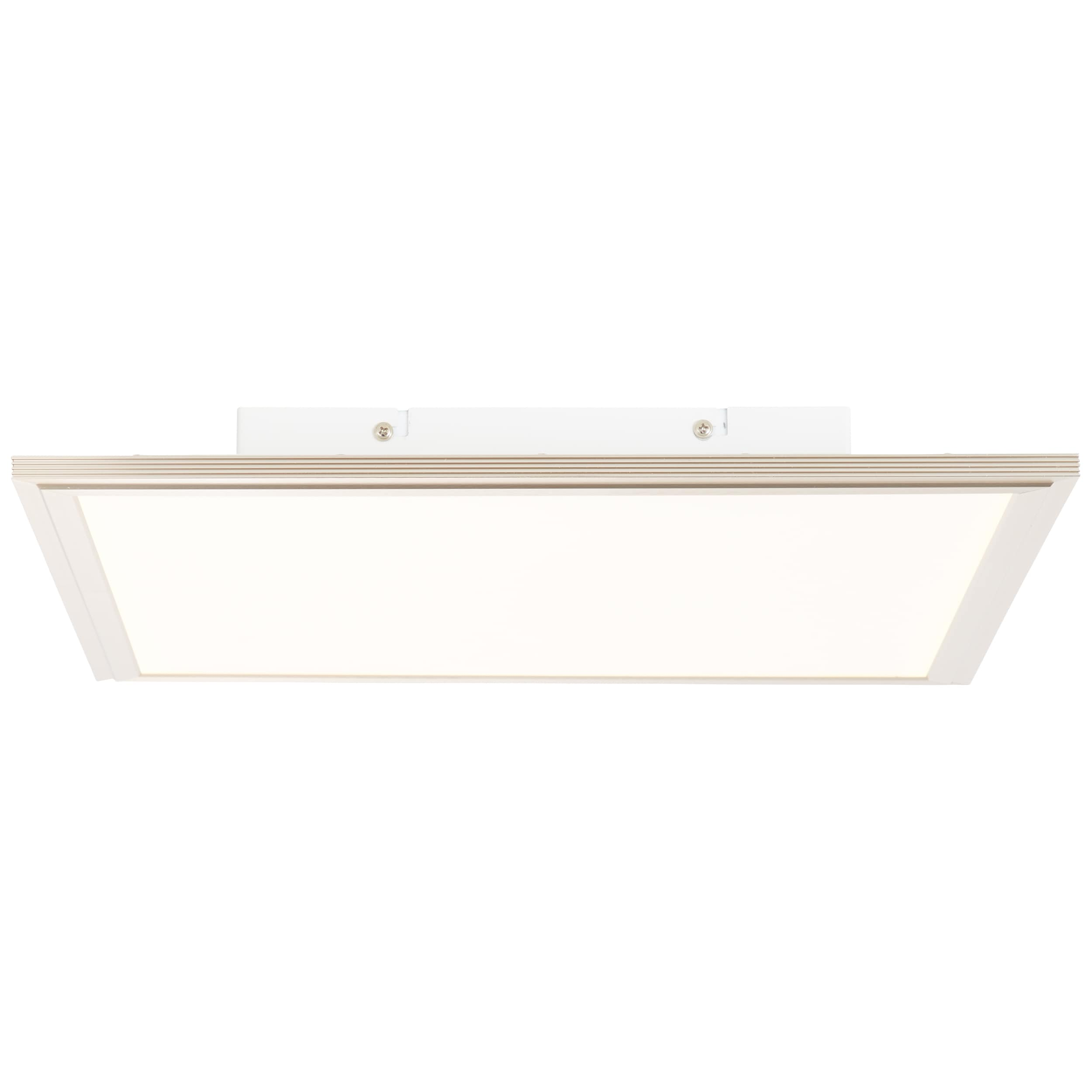 AEG Bendix LED Deckenaufbau-Paneel 42x42cm Tageslichtsensor nickel