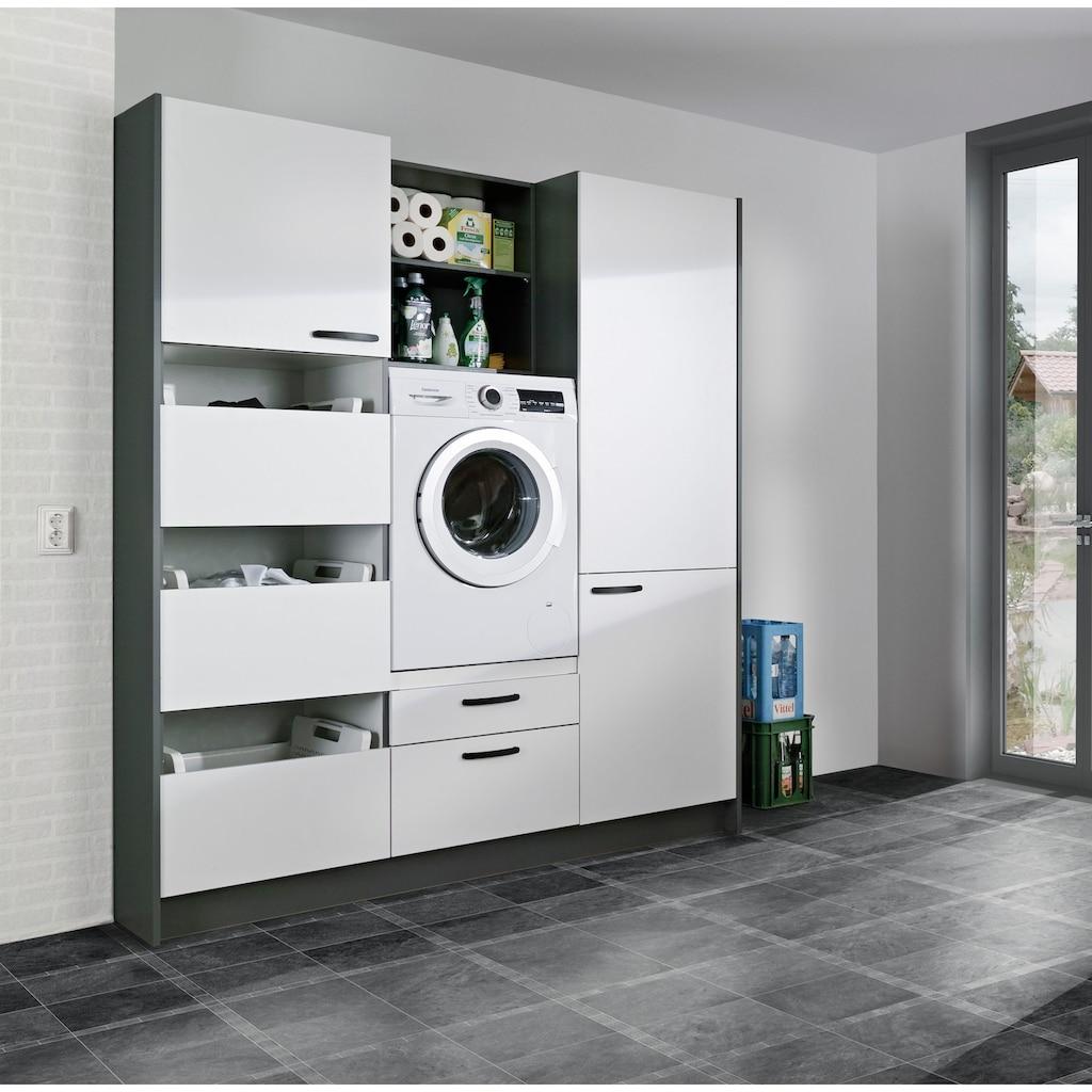 Express Küchen Schrank-Set »Arta«, (7 St.), ohne Geräte, vormontiert, mit Soft-Close-Funktion, Stellbreite 185cm