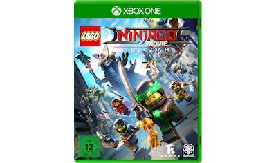 Warner Games Spiel »The Lego Ninjago Movie Videogame«, Xbox One, Software Pyramide kaufen