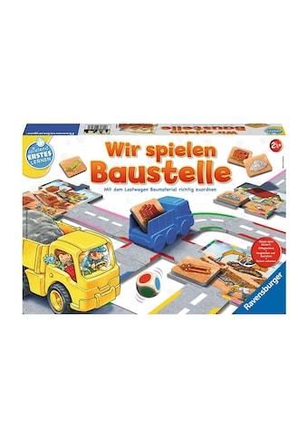 Ravensburger Spiel »Wir spielen Baustelle«, Made in Europe, FSC® - schützt Wald -... kaufen