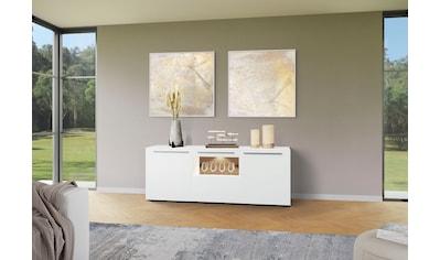 GWINNER Sideboard »Bellano«, mit Akzentrückwand kaufen