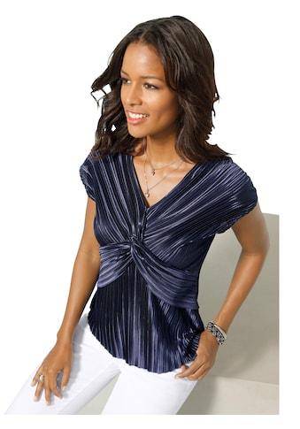 Alessa W. Shirt in gekreuzter Knoten - Optik kaufen