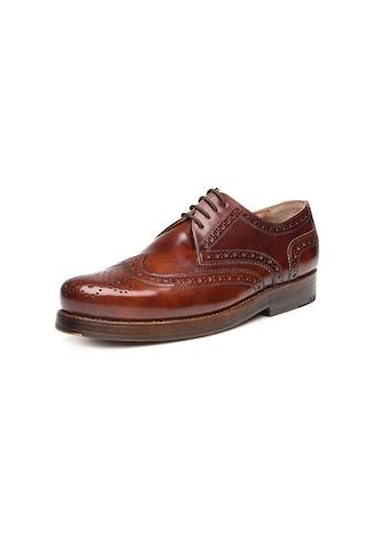 Heinrich Dinkelacker Schnürschuh »Rio Full-Brogue TC«, Wahre Schuhmacherkunst aus Budapest kaufen