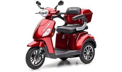 ECONELO Elektromobil »J1000«, 1000 W, 25 km/h (mit Topcase) kaufen