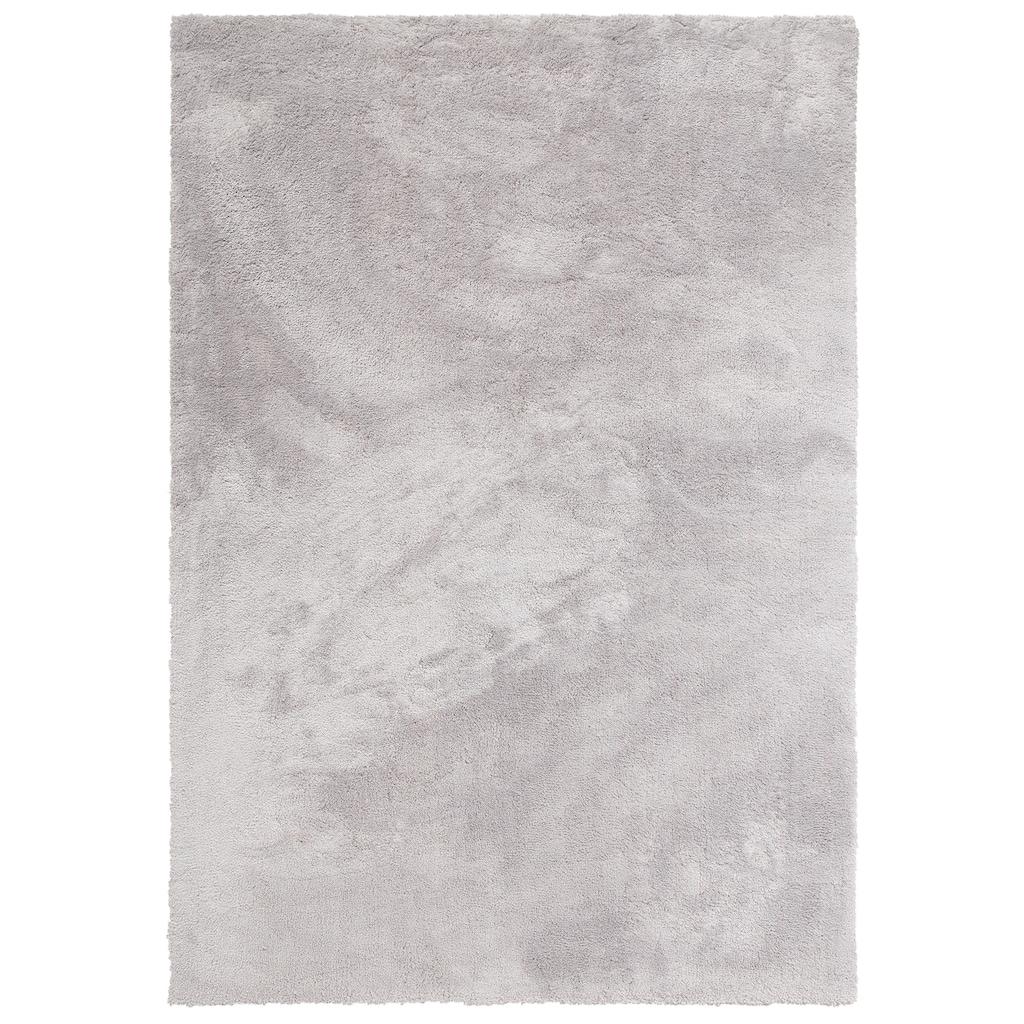 my home Hochflor-Teppich »Magong«, rechteckig, 25 mm Höhe, besonders weich durch Microfaser