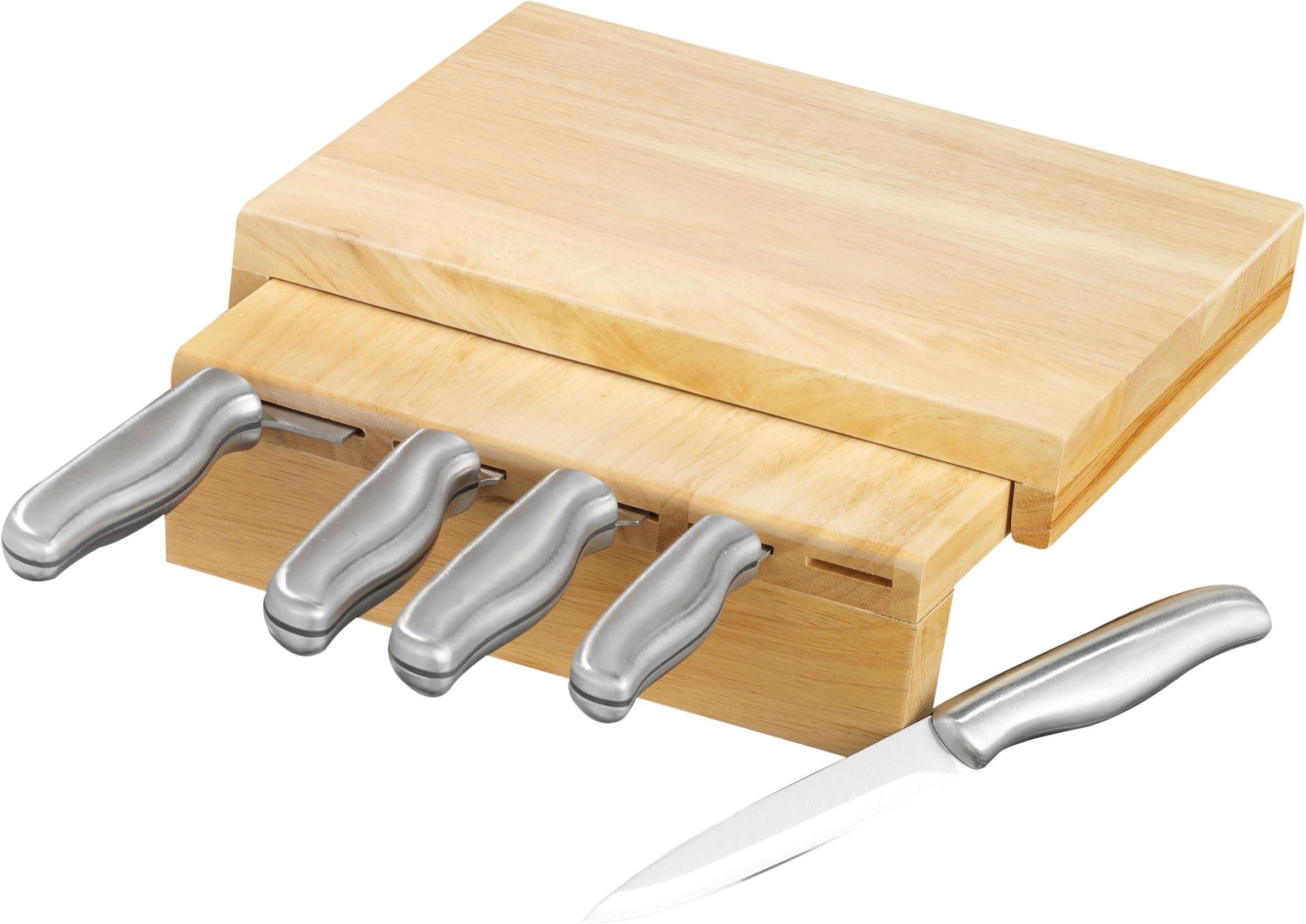 Esmeyer Messerblock Corona (6tlg) Wohnen/Haushalt/Haushaltswaren/Besteck & Messer/Küchenmesser-Sets/Messerblöcke