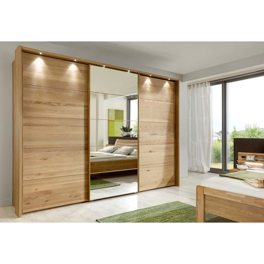 WIEMANN Schwebetürenschrank »Kufstein«, mit Spiegeltür